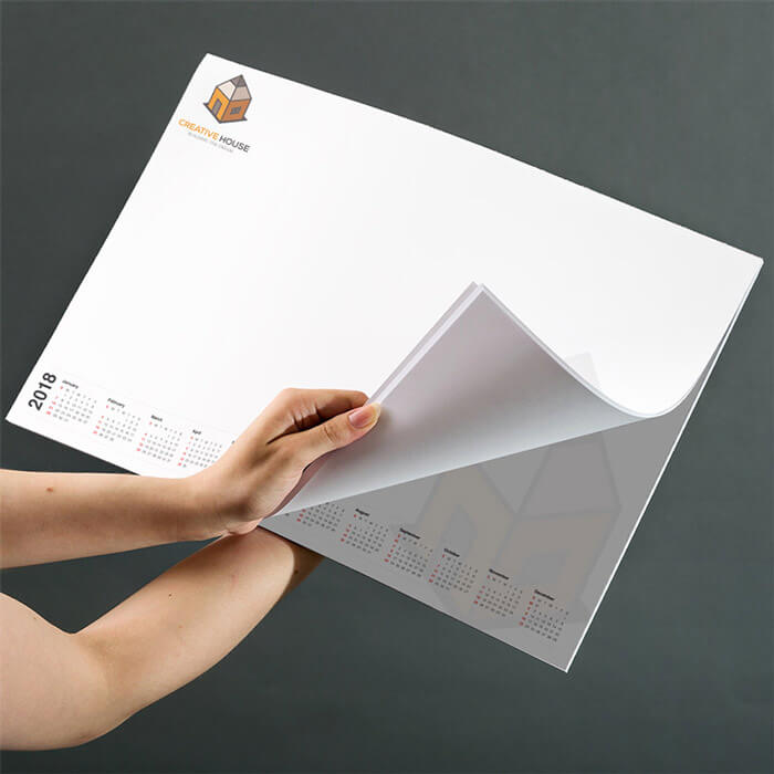 A3 100gsm Premium Smooth White Paper Desk Pad