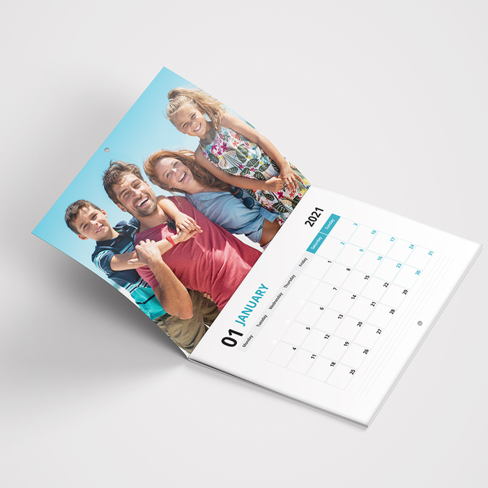 Personalised Photo Calendar Open