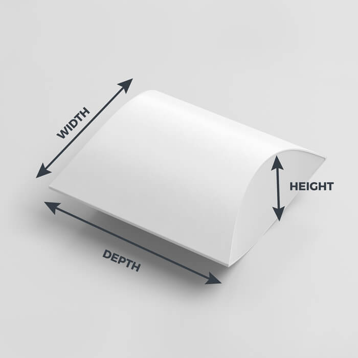 Pillow Box Dimensions