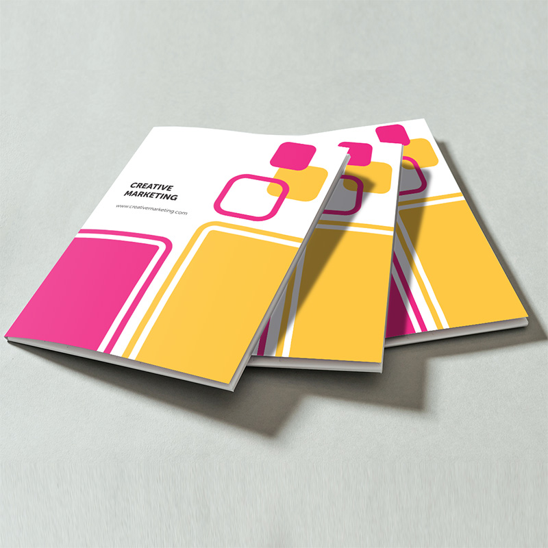 Interlocking A5 Presentation Folders