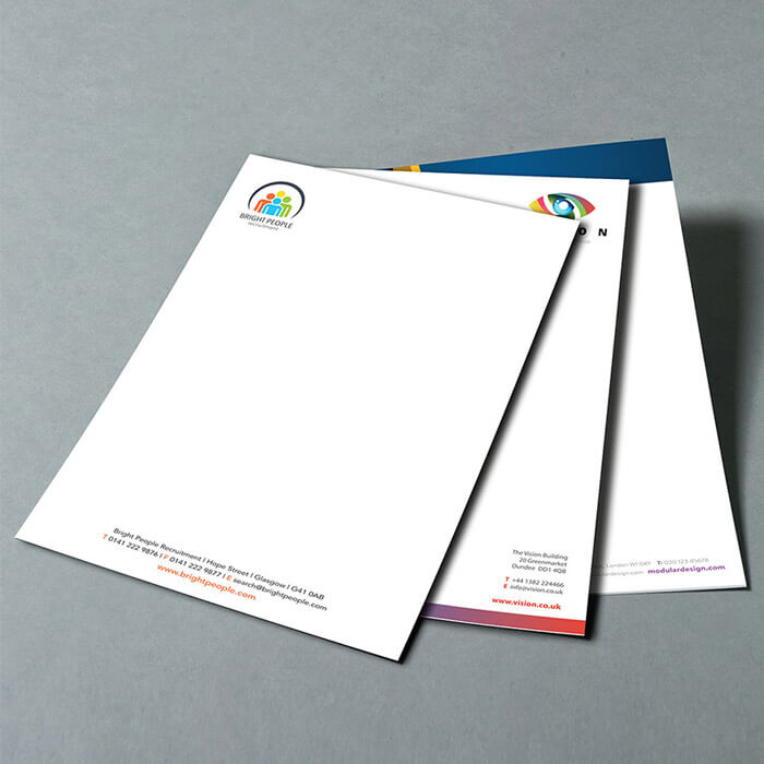 Letterhead Printing from Tradeprint