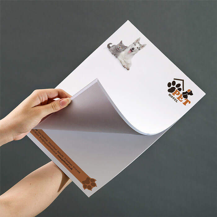 A4 100gsm Premium Smooth White Paper Desk Pad