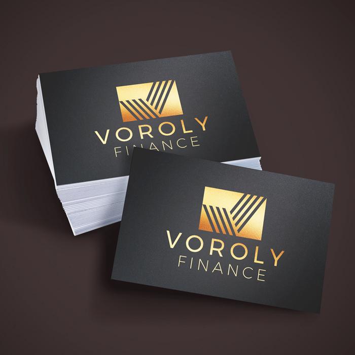Metallic Foil Business Cards | Tradeprint