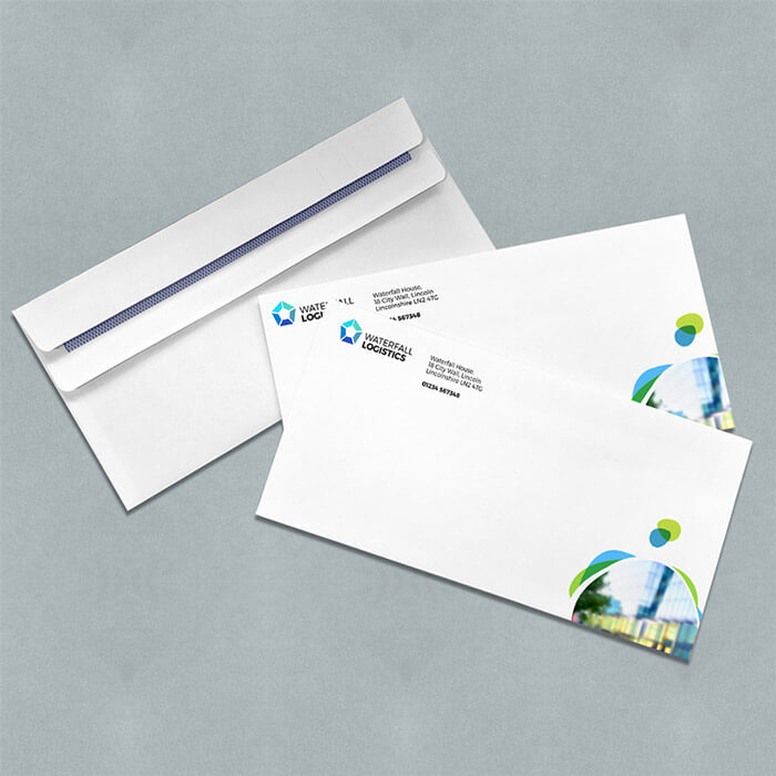 90gsm White DL Envelopes