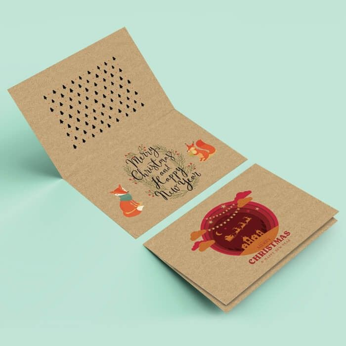Kraft Greeting Cards