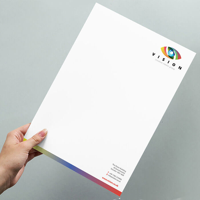 A4 120gsm Letterheads