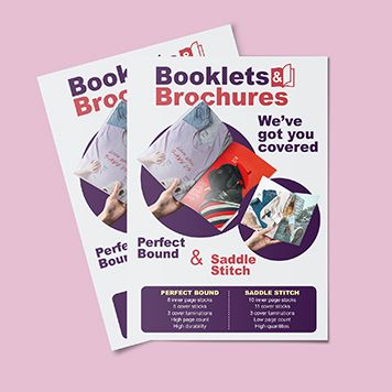 Booklets and Brochures flyer
