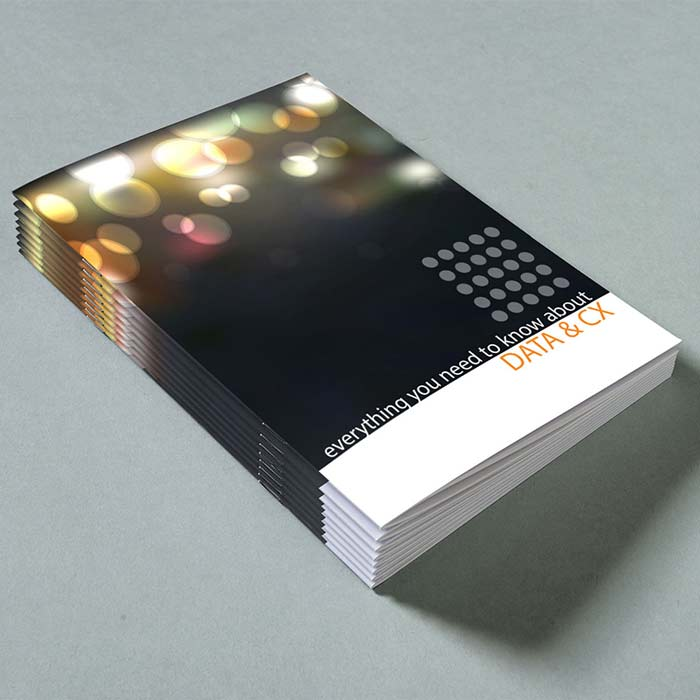 A5 Portrait Saddle Stitched Booklet
