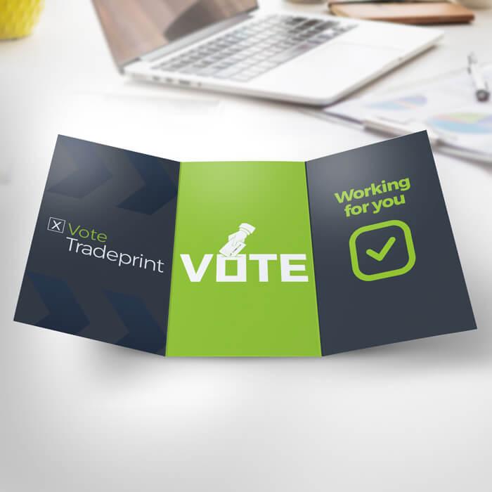 Corner Exhibition Stands Election : Election print essentials tradeprint