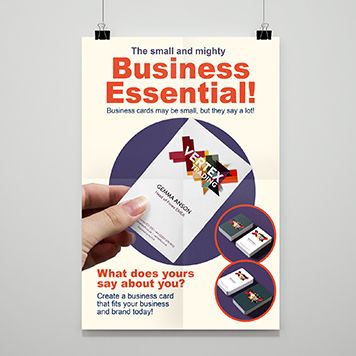 Business Cards poster