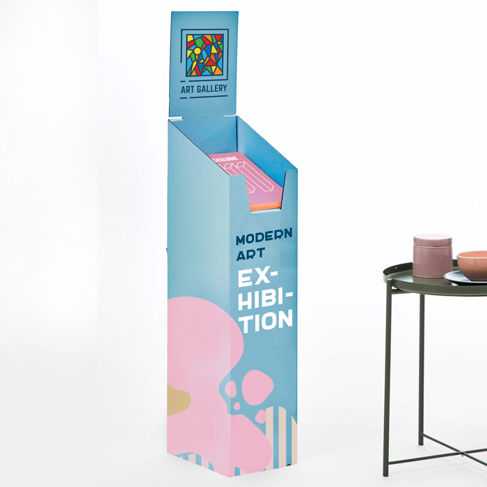 Single Shelf Brochure Stand