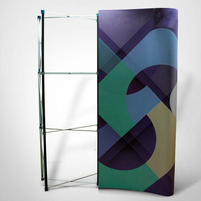 Rigid Display Stand Frame and Graphic