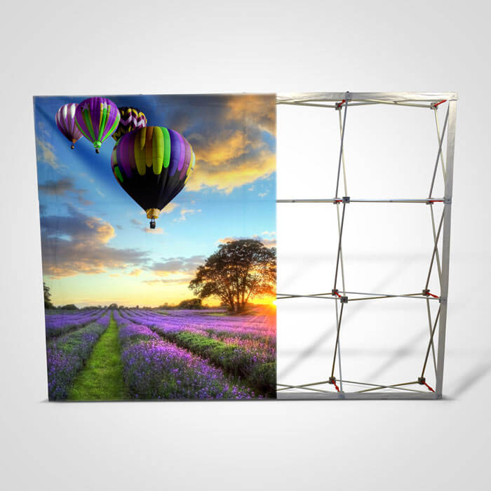 Fabric Pop up Display Stand - Graphic and Frame