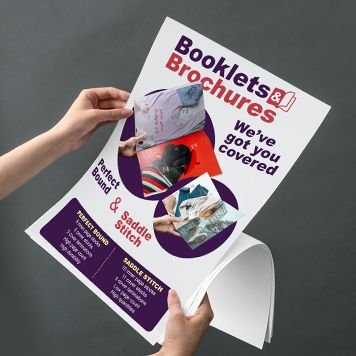 Booklets and Brochures poster